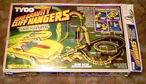 AFX Cliff Hangers model race set