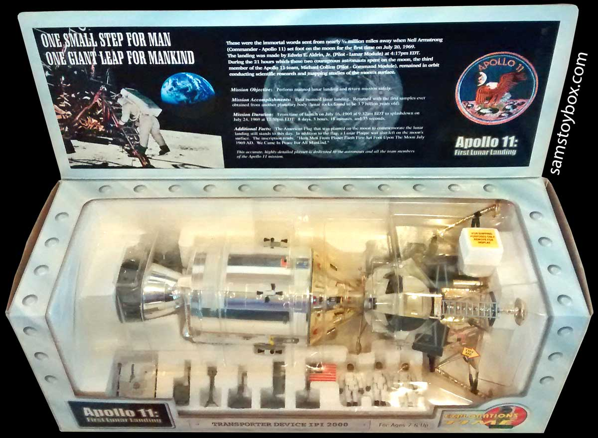 Apollo 11 Playset by IPI Toys