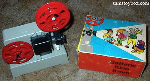 Battery Operated 8mm Projector