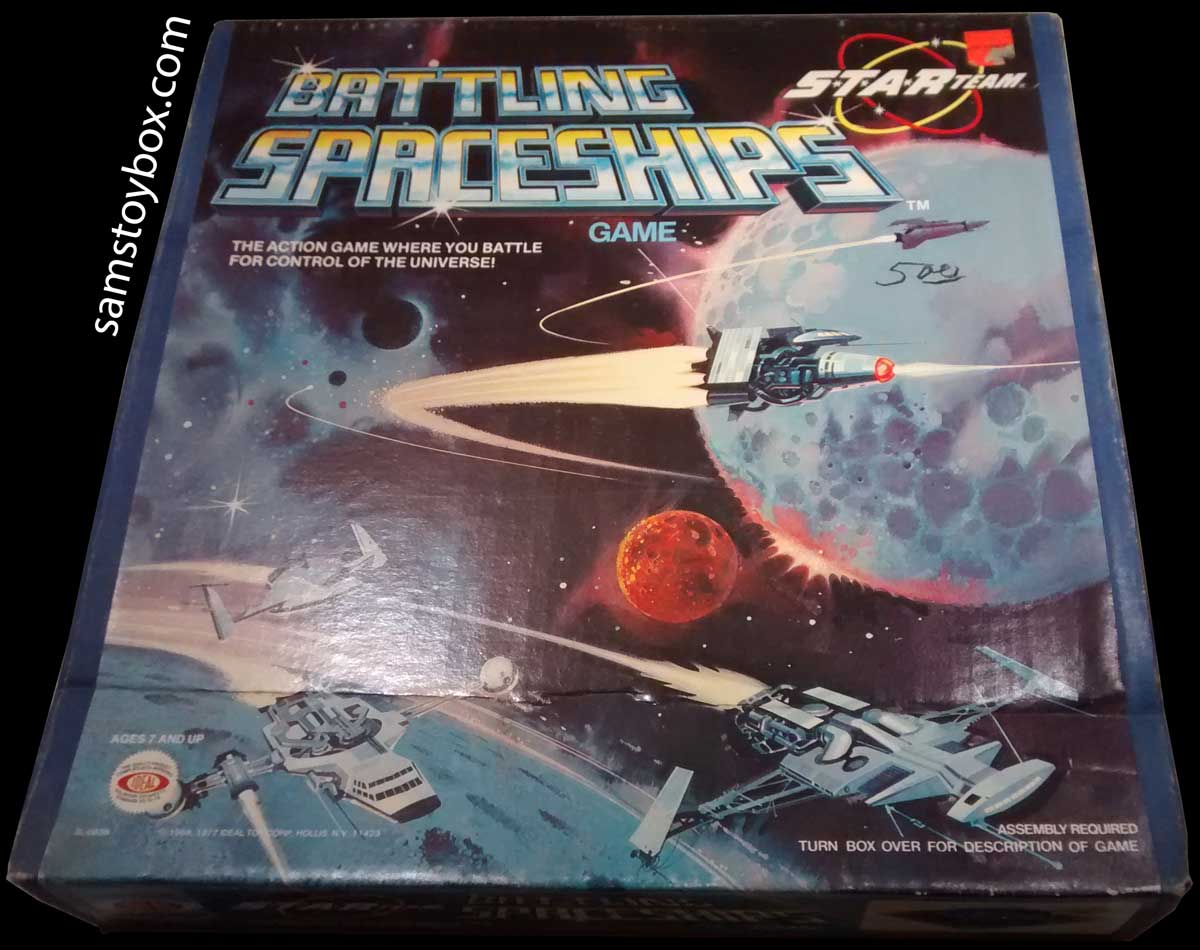 Box for Battling Spaceships Game by Ideal