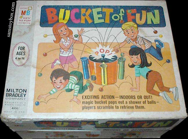 Bucket of Fun Game Box