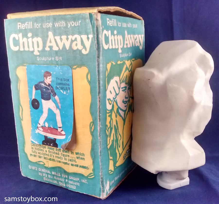 Chip Away Bowler figure by Kenner