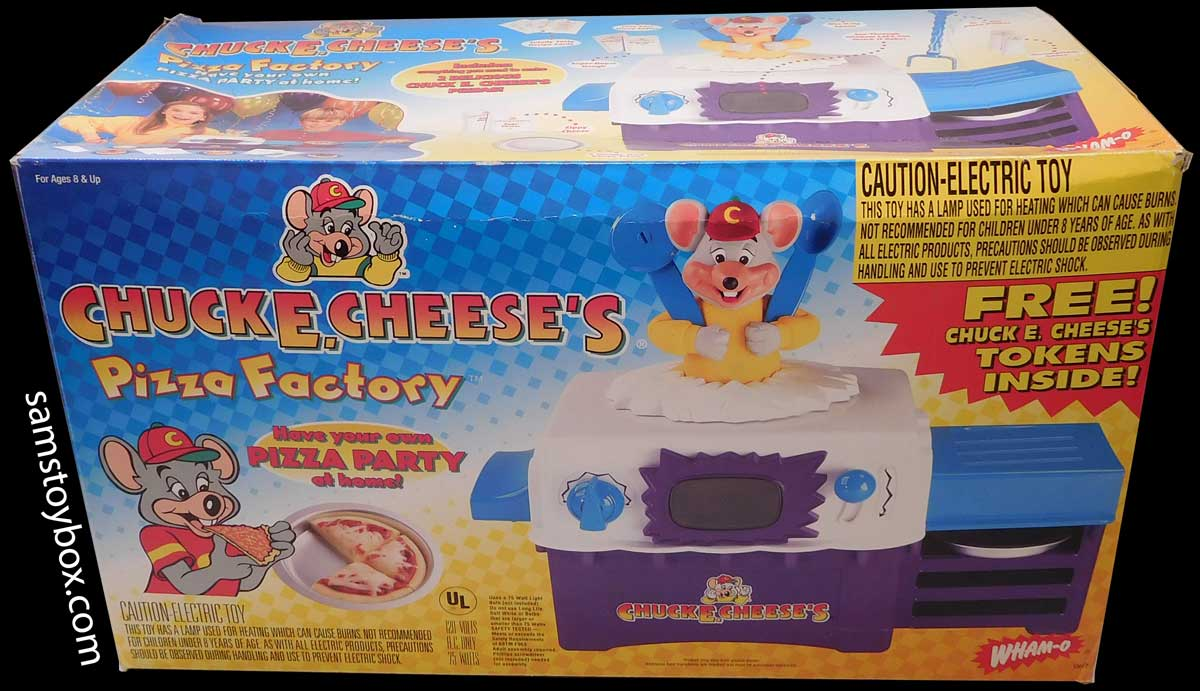 Chuck E. Cheese's Pizza Factory Box
