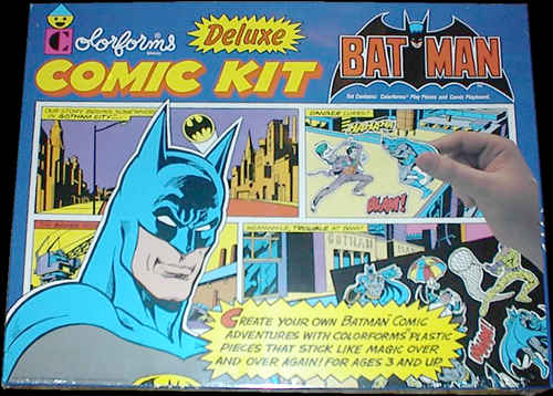 Batman Colorforms