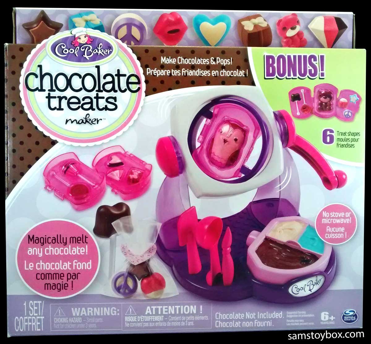 Cool Baker Chocolate Rotocast Set