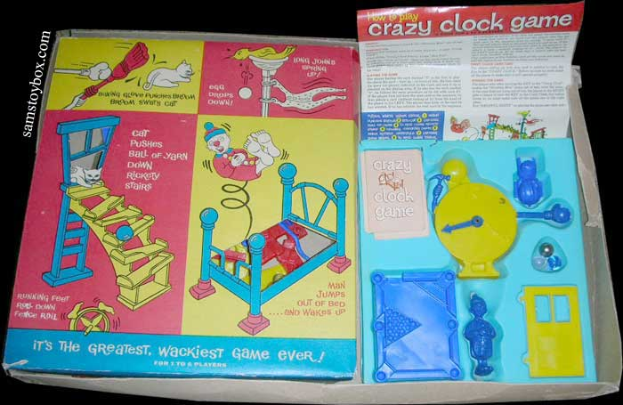 Crazy Clock Game by Ideal