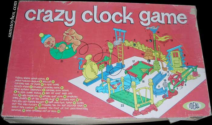 Crazy Clock Game Box