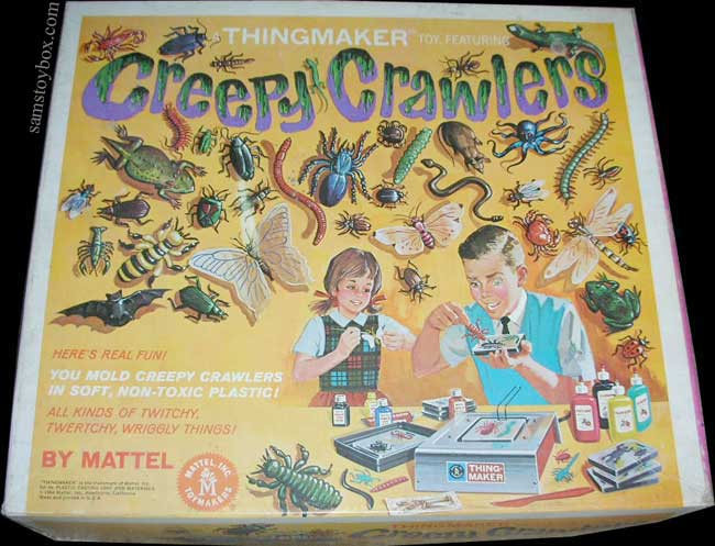Creepy Crawlers Box