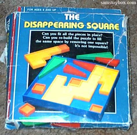 The Disappearing Square puzzle