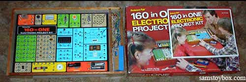 160-in-1 Electronic Project Kit