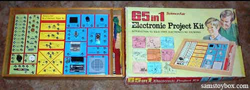 65-in-1 Electronic Project Kit