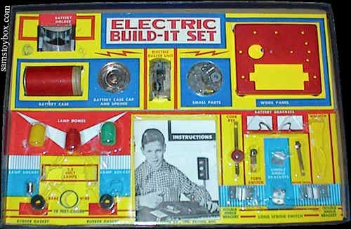 Electric Build-It Model 803 Set
