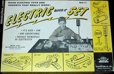 Electric Build-It Model E-1 Set Box