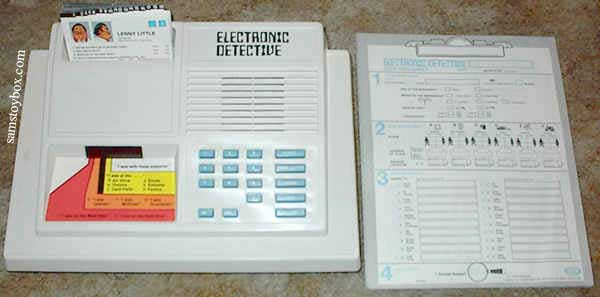 Ideal Electronic Detective Game