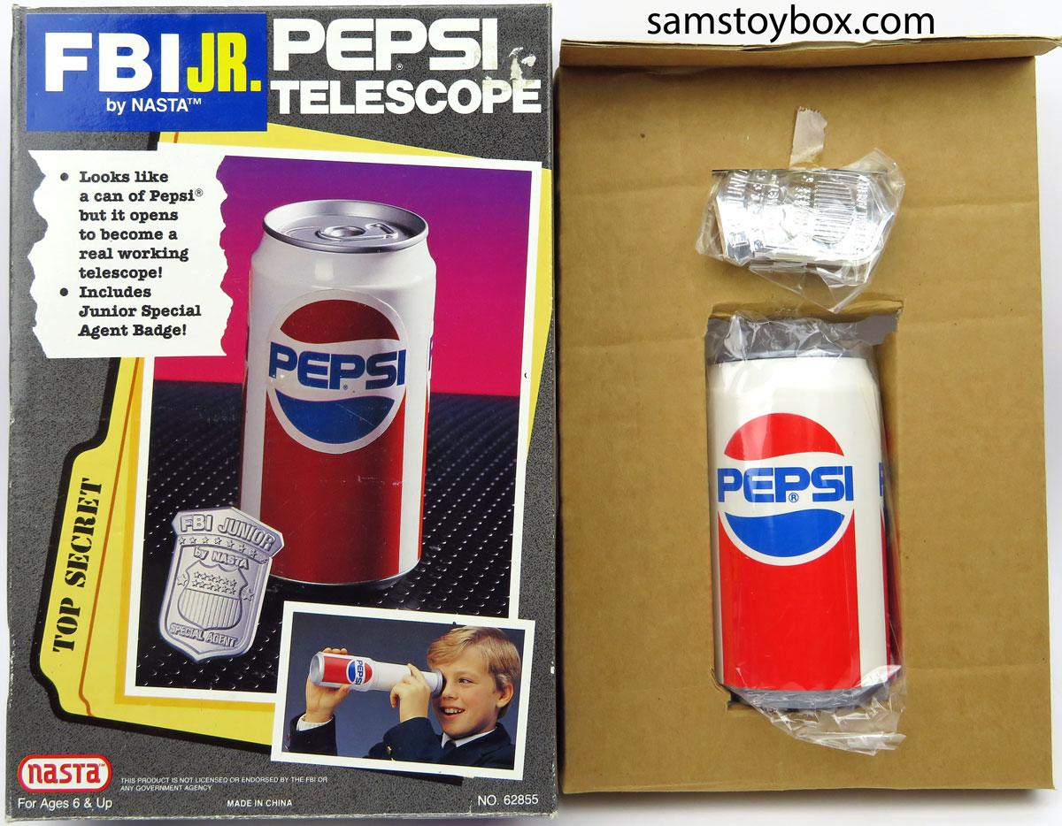 Pepsi Can Telescope