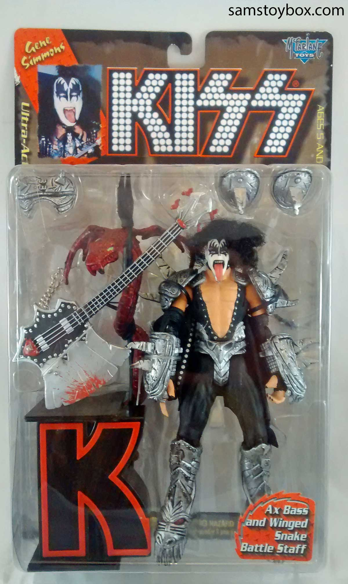 Gene Simmons from KISS Action Figure