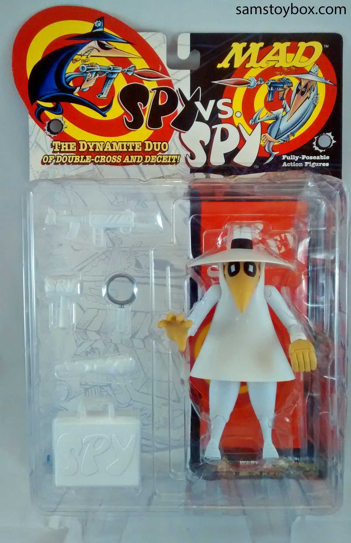 Mad Magazine's Spy vs. Spy Action Figure