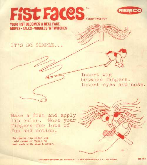 Fist Faces Instructions