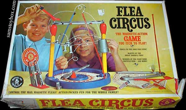 Flea Circus Game Box