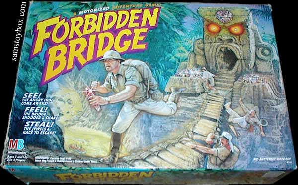 Forbidden Bridge Game Box