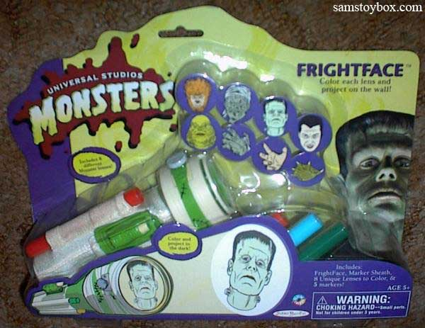 Fright Face flashlight toy