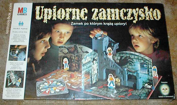 Polish version of Ghost Castle Game by Milton Bradley