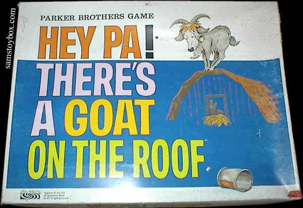 Hey Pa! There's a Goat on the Roof by Parker Brothers Game box