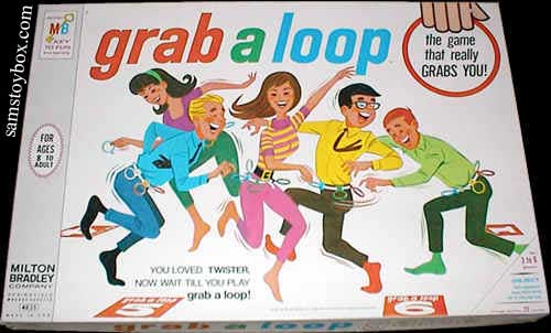 Grab a Loop Game Box