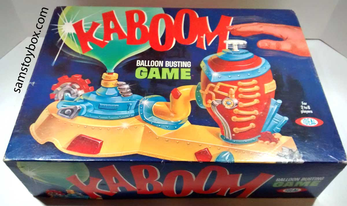 Kaboom Game Box