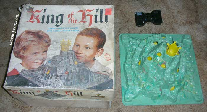 King of the Hill Game with its Box