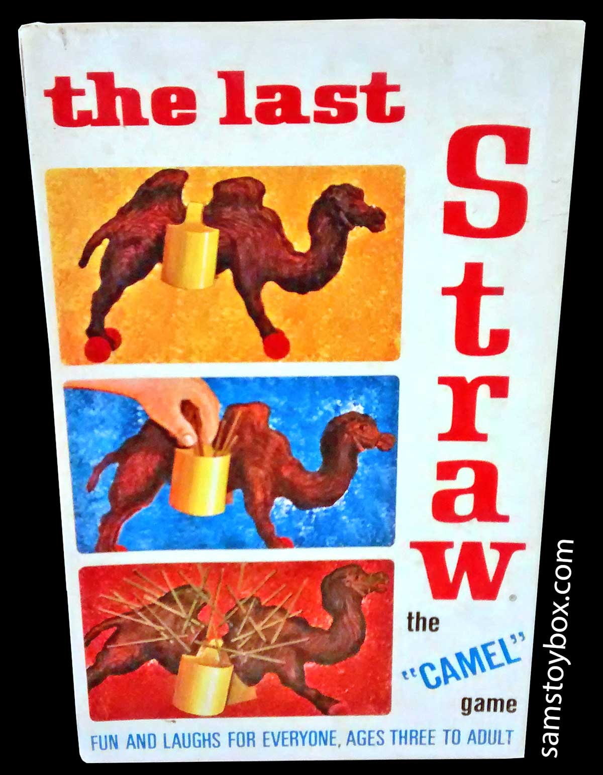 The Last Straw Game Box