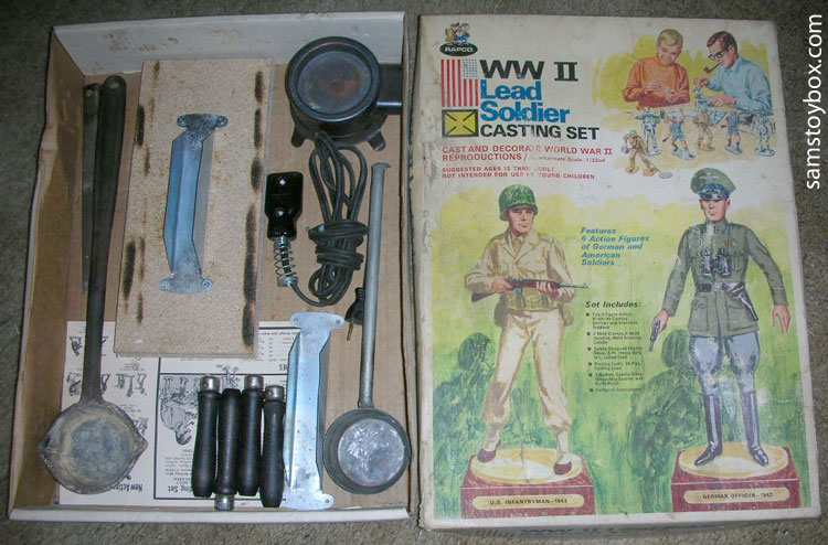 Lead Casting set contents and box
