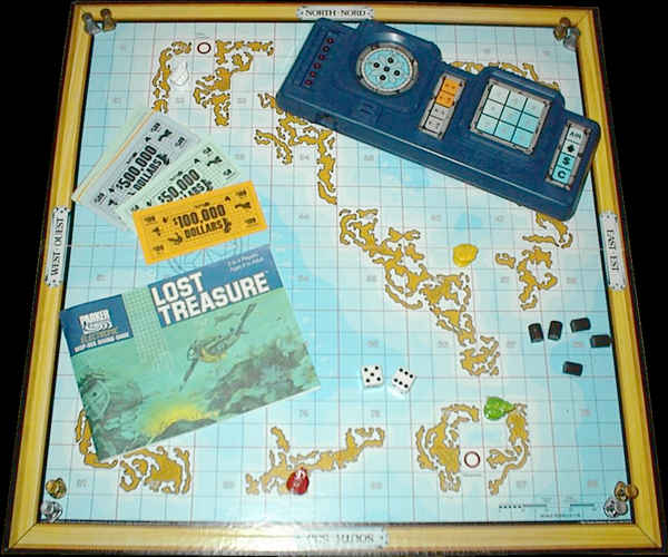 Lost Treasure Game Board