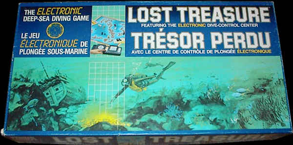 Lost Treasure Game Box