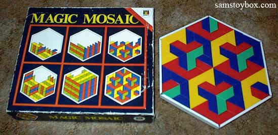 Magic Mosaic Toy by Diset