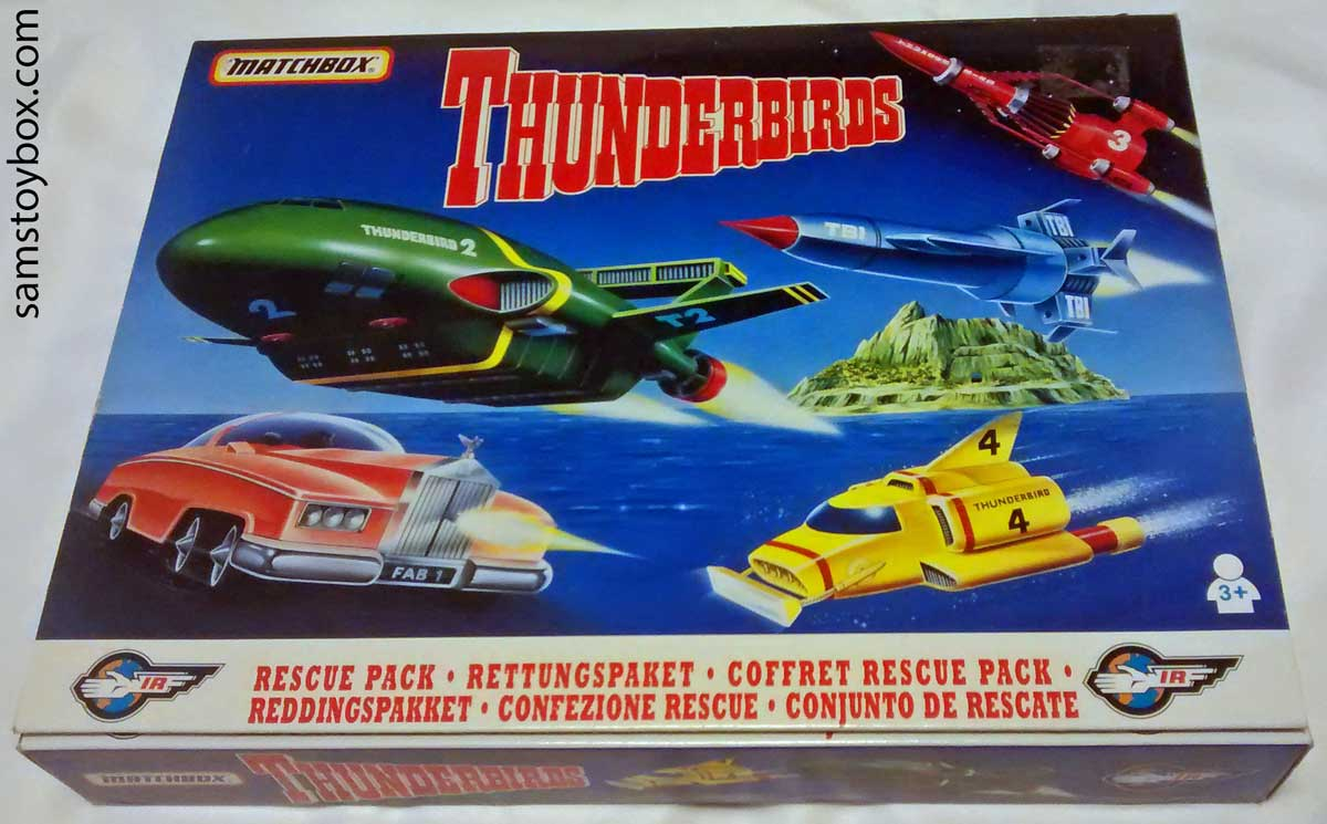 Matchbox Thunderbirds Rescue Pack