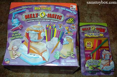 Flying Colors Melt-O-Matic set and Pla-Stix refills