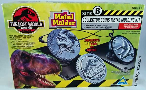 Jurassic Park Coins Front