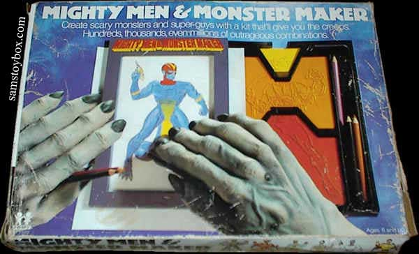 Mighty Men & Monster Maker Box