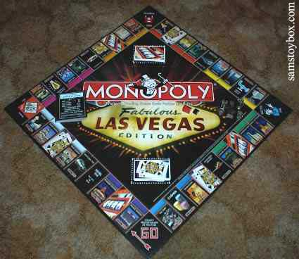 Newer Las Vegas Monopoly Board