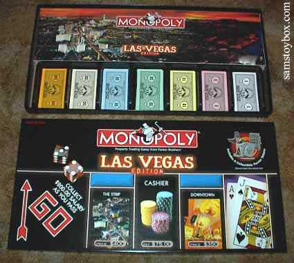 Newer Las Vegas Monopoly Box