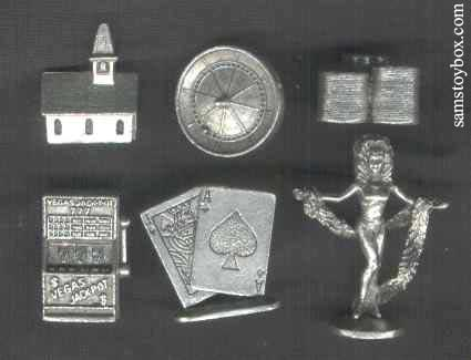 Newer Las Vegas Monopoly Tokens