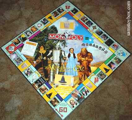 Wizard of Oz Monopoly Board