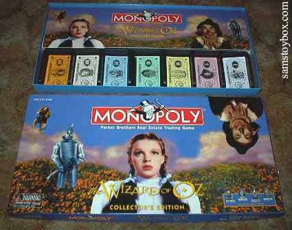 Wizard of Oz Monopoly Box