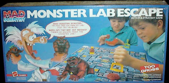 Mad Scientist Monster Lab Escape