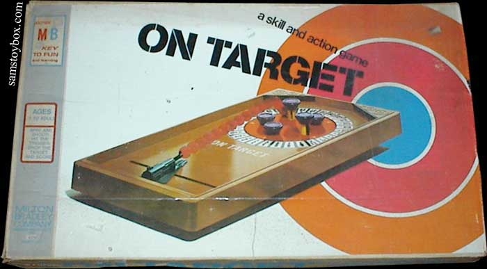 On Target Game Box
