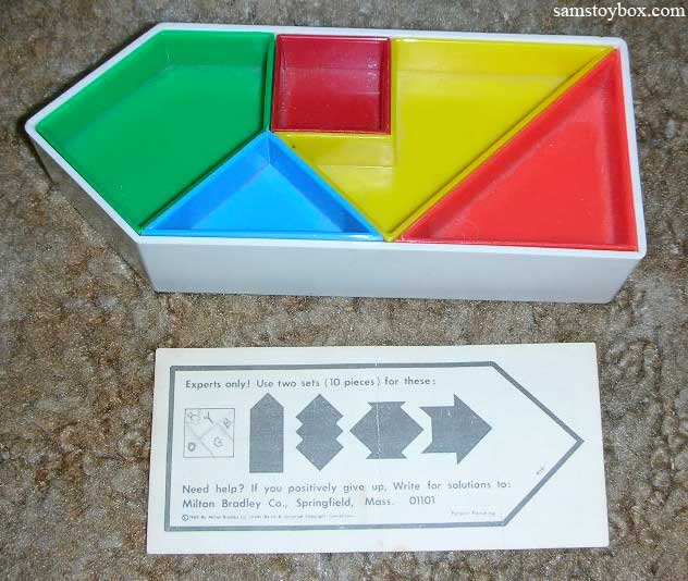 One Way Puzzle pieces and instructions