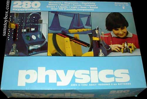 Science Fair Physics Set box