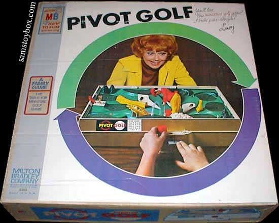 Pivot Golf by Milton Bradley