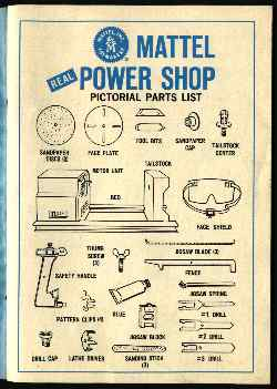 Power Shop Parts List